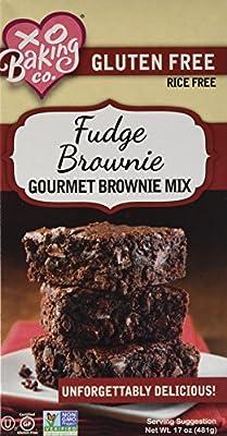 XO Baking Co. Fudge Brownie Mix, 17 ounce