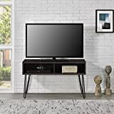 "Industrial Retro Style Flat Panel 42"" Espresso TV Stand"