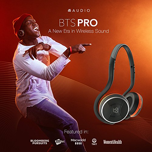 66 AUDIO - BTS Pro - Wireless Bluetooth 4.2 Headphones feat. the MotionControl app for iOS & Android, 40+ Hour Continuous Music, HD Stereo Sound, 100+ Feet Wireless Range by 66 Audio (Image #7)