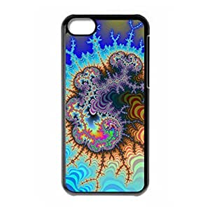 Hard back shell with Mysterious Crazy Trippy style for iPhone 5C
