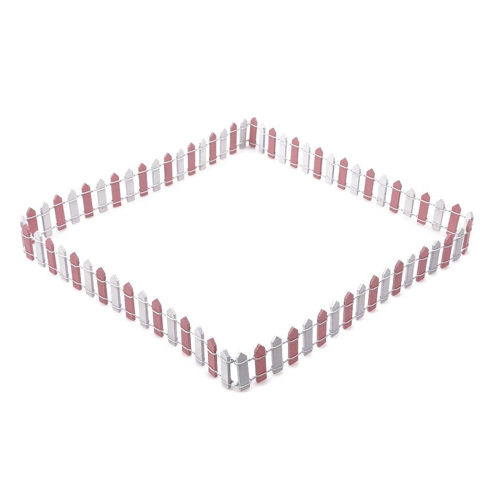 Webrahmenzubehör Weben Yinew Handgemachte Holzzaun Palisade Miniatur