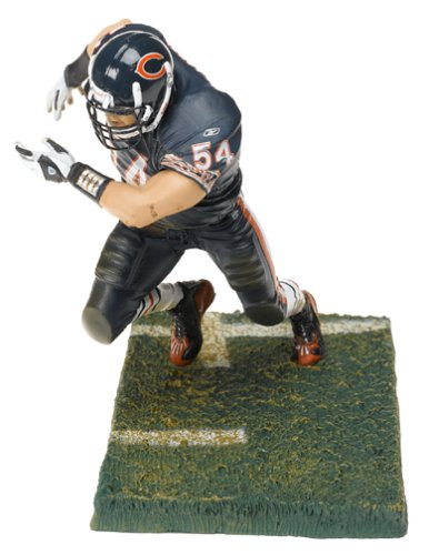 (McFarlane Toys NFL Sports Picks Series 9 Action Figure Brian Urlacher (Chicago Bears) Blue Jersey Blue Pants Variant by Unknown)