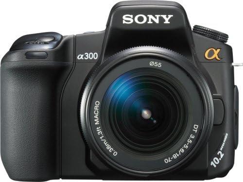 Sony DSLR-A300 + 18-70mm + 55-200mm: Amazon.es: Electrónica