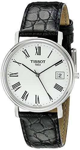 tissot-mens-t52142113-t-classic-desire-leather-white-dial-watch