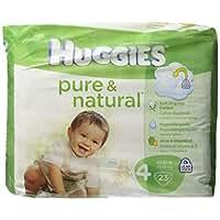 Huggies Pure & Natural DiapersJumbo Pack - Size 4 - 23ct