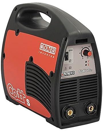 Solter 04241 - Equipo INVERTER de soldadura de electrodos revestidos Cott 175Se, color negro y