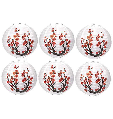 6-Piece-Paper-Lanterns-Hanging-Round-Lantern-Decorations-with-Plum-Blossom-Illustrations-97-x-92-Inches