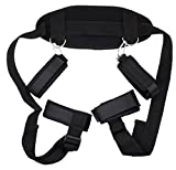 Restraints Kits, Wrist Thigh Leg Restraint Straps Ankle Hand Cuffs for Adult Couples Sex Play