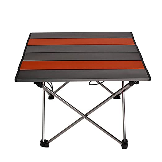 YZERTLH Mesa De Camping Plegable Portátil Ligera, Compacta, Cómoda ...