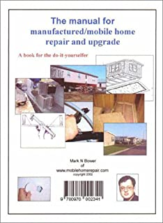 The Manual For Manufactured Mobile Home Repair And Upgrade