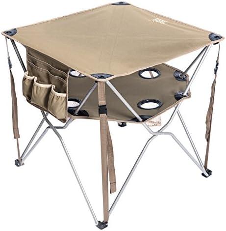 Timber Ridge Folding Table Utility Outdoor Camping Lightweight Desk
