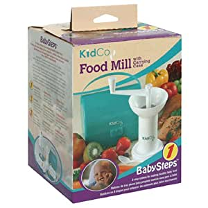 KidCo Baby Steps Food Mill, with Carrying Case , 1 food mill (Discontinued by Manufacturer)