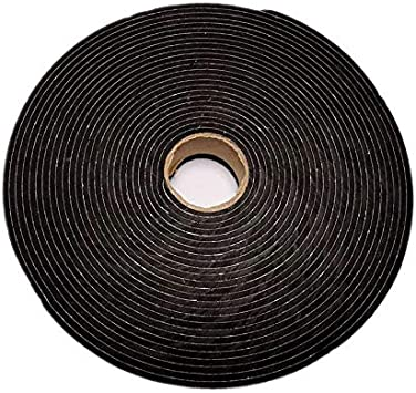 Door XFasten Black Foam Seal Tape with Adhesive High-Density Weather Strip Tape for Window Pipe and AC Insulation- Neoprene Insulation Foam Strip Tape 3-Pack 3//4 Inches Thick 1-Inch X 5-Foot