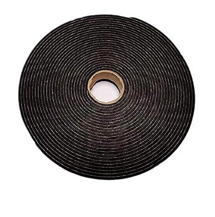 24mm Width x 3mm Thick x 10 Meter Length Lama333 Black Foam Self-Adhesive Sealing Installation Tape