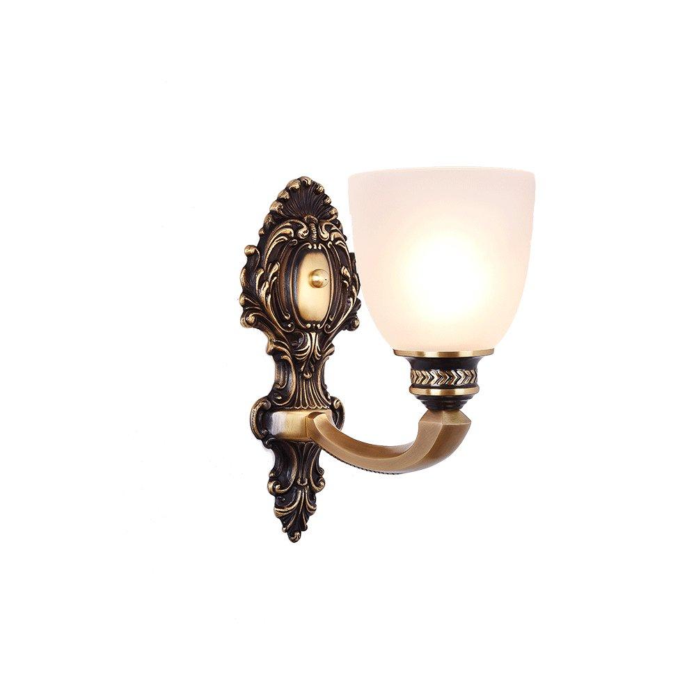 Garanzia del prezzo al 100% Chen Retro stile pastorale pastorale pastorale stile europeo ombra di vetro retrò lusso soggiorno camera da letto lampada da parete  scegli il tuo preferito
