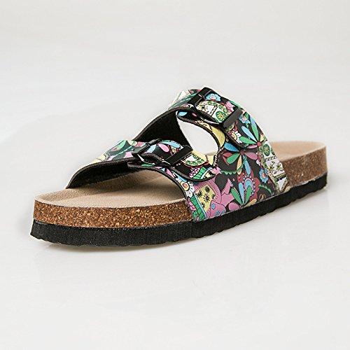 Xing Guang Nouveaux Pantoufles De Commerce Extérieur Des Amoureux La Mode Sandales Anti-dérapantes,a(43) B(39)