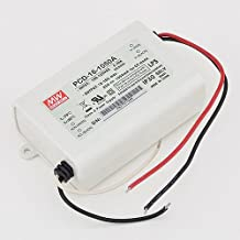 MeanWell PCD-16-1050A 16 Watt AC Dimmable LED Power Supply, 12-16VDC 1050mA Output, 3253-12V