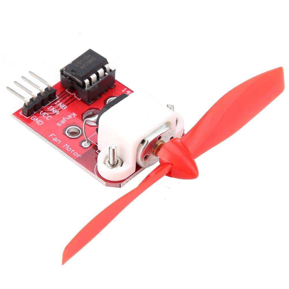 Coomir Pezzi del modulo 5/V del Motore con Ventilatore l9110/per Il Robot di spegnimento degli incendi Arduino