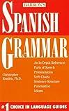 Spanish Grammar, Kendris, Christopher, 0812042956