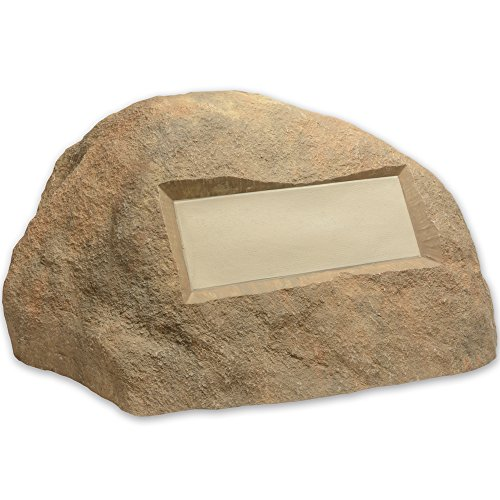 Outdoor Essentials Faux Address Rock, Tan