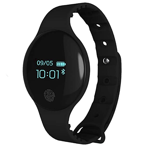 Tayhot - Reloj Deportivo Deportivo Digital con Bluetooth, Impermeable, Pantalla táctil Redonda, recordatorio de Llamadas, Fitness, Reloj Inteligente para ...
