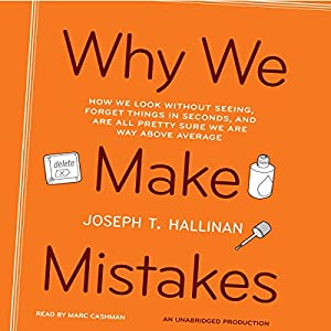 Why We Make Mistakes Audiobook
