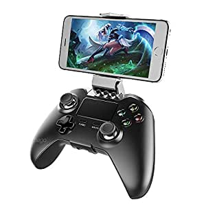 IPEGA Rechargeable Bluetooth Wireless Gaming Controller for Android phone, talbet, smart TV, TV box and Windows PC