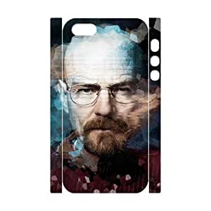 C-EUR Cell phone Protection Cover 3D Case Breaking bad For Iphone 5,5S