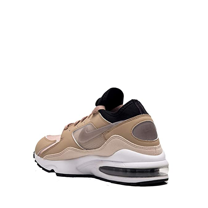 reputable site a9007 cb61e Nike Mens Air Max 93 Fitness Shoes, Multicolour Sepia StoneDesert SandWhite  202, 9 UK Amazon.co.uk Shoes  Bags
