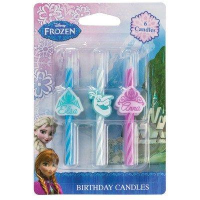 Amazoncom Disneys Frozen Icon Birthday Cake Candles 6 pc