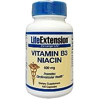 ナイアシンB3 500 mg含有/1粒 100粒 海外直送品