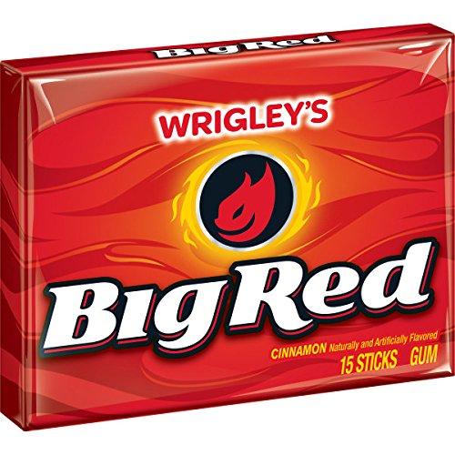 Big Red 15 sticks per pack, 10 packs, 12 per case