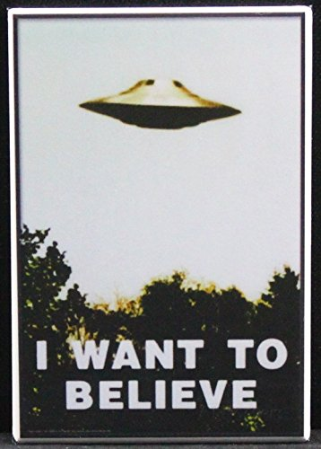 I Want To Believe - Refrigerator Magnet.