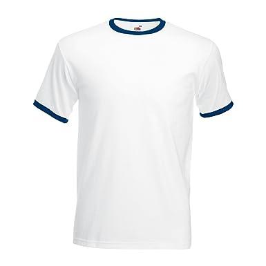 85c18131ab8d3 T-shirt à manches courtes Fruit Of The Loom pour homme: Amazon.fr ...