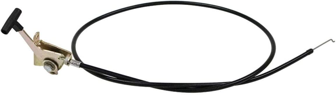 Genuine Wright Manufacturing Replacement Throttle Cable for 48 52420002 52 /& 61 Deck Mowers