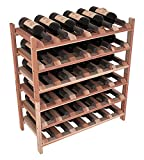 Wine Racks America Redwood 36 Bottle Stackable. 13 Stains to Choose From!