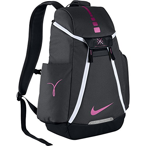 Nike Hoops Elite Max Air Team 2.0 Basketball Backpack Anthracite/Black/Pinkfire II Size One Size - Bags Nike College