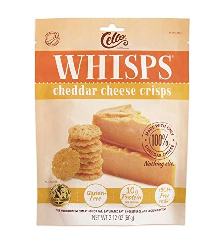 Whisps Cheddar Cheese Crisps 2.12 oz (6 Pack)