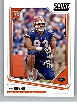 Amazon Com 2018 Score 432 Taven Bryan Florida Gators Football Card