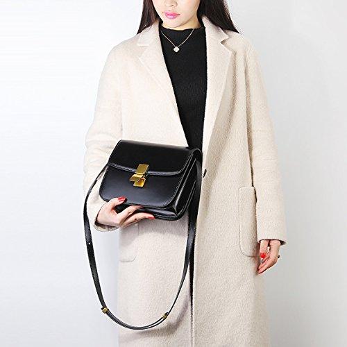187 main E en cuir bandoulière Noir à LF épaule Sac femme fashion Girl Sac Sac portés EwESqTUg
