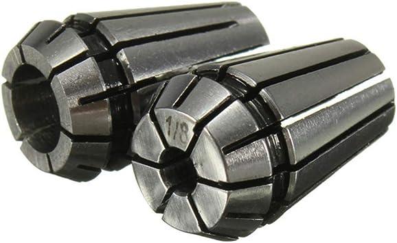 HGY CNC Er11,ER11 Chuck Collets /écrous de Serrage Pi/èces for Tour Machine de fraisage CNC Gravure 4 mm Chuck