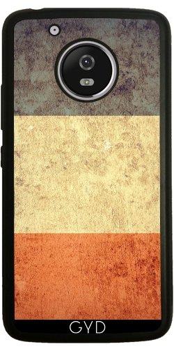 Funda de silicona para Moto G5 - Grunge Bandera De Francia by Warp9