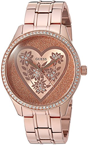 GUESS Womens U0910L3 Gold Tone Stainless