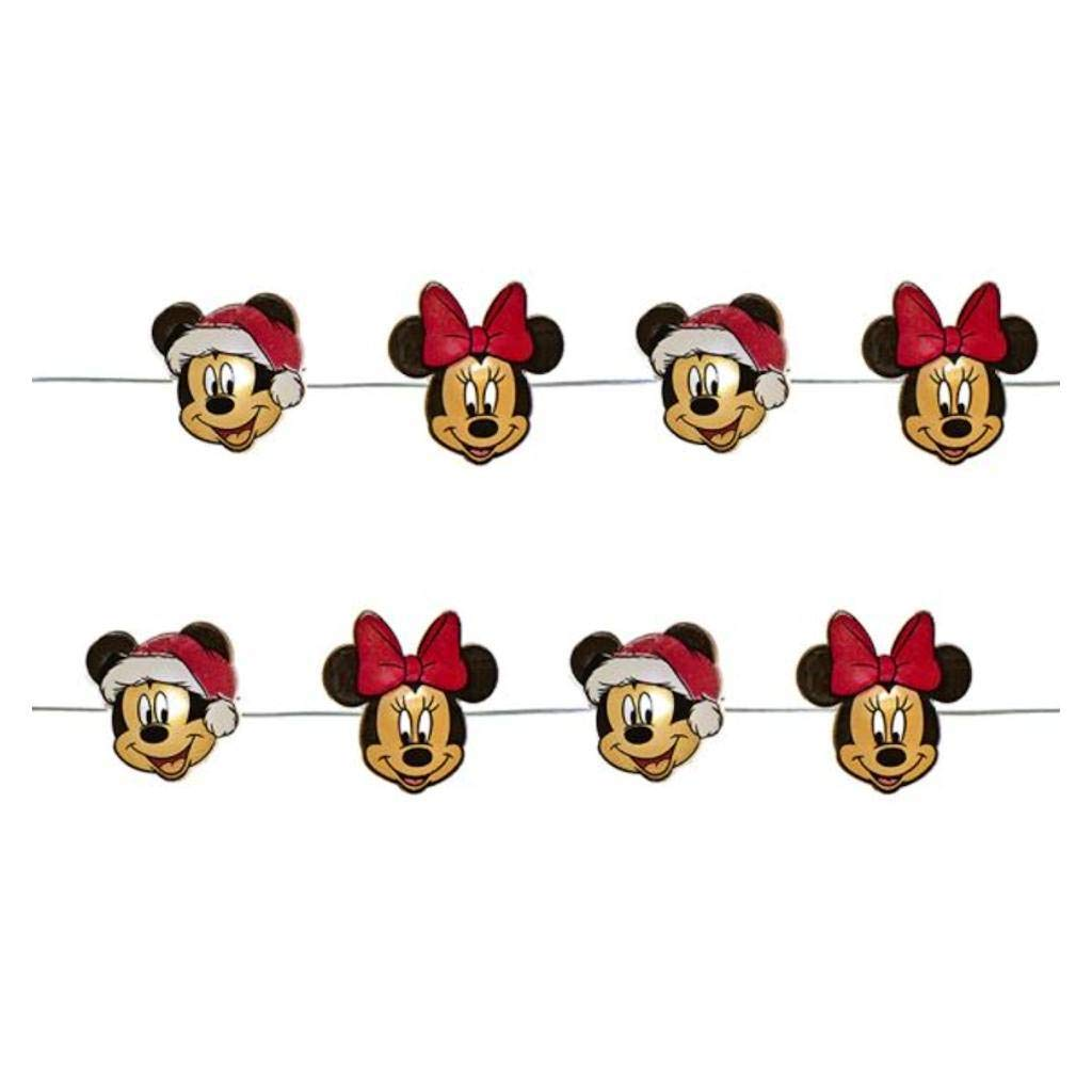 Kurt Adler 20 Piece Mickey   Minnie Fairy Lights Standard