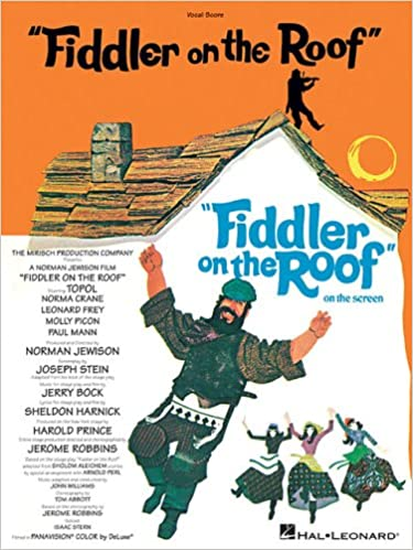 Fiddler on the Roof Vocal Score