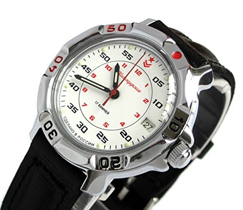 Vostok Komandirskie Military Russian Watch Commander, used for sale  Delivered anywhere in USA