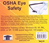 OSHA Eye Safety, Farb, Daniel, 1932634274