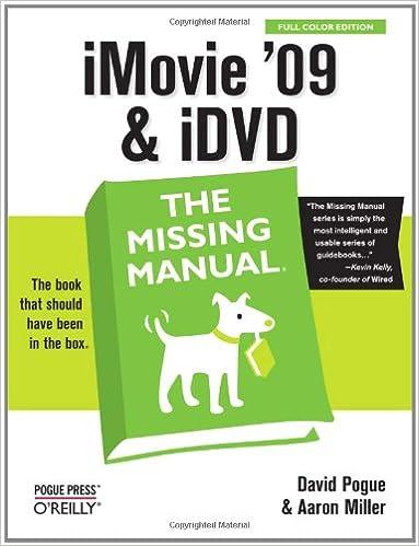 Imovie Manual Pdf