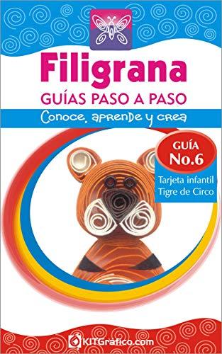 Amazon.com: Guía No.6 Tarjeta infantil Tigre de Circo ...
