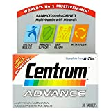 Centrum Advance Multivitamins 30 Tablets